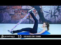 Corpo Perfetto con l'Elastiband - YouTube