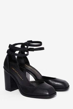 63dae2cf7a25 Intentionally Blank Bridgette Leather Heel - Heels