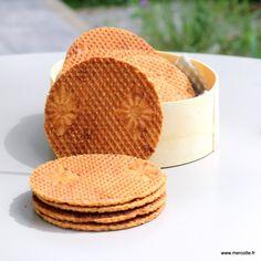 Bricelets ou gaufres sèches : la récré du dimanche … – La cuisine de Mercotte :: Macarons, Verrines, … et chocolat