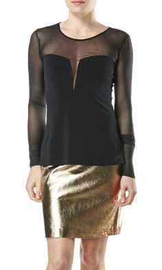 A boustier-style top is perfect for Vegas. Try this one on @Beckley Boutique.