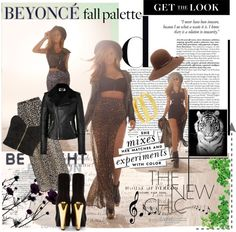 """""""Beyonce-Dereon fall-winter"""" by yoa316 ❤ liked on Polyvore"""
