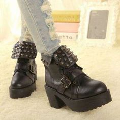 Studded Short Boots from #YesStyle <3 Mancienne YesStyle.com