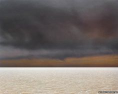 From Murray Fredericks' Lake Eyre 'Salt' series: Salt 110