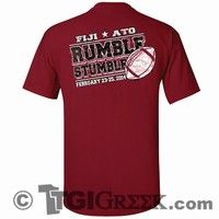 TGI Greek Tshirt - Phi Gamma Delta - Rumble Stumble Shirt