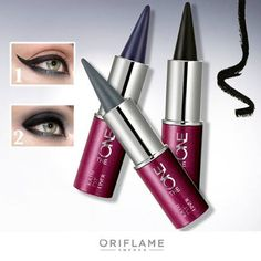 Eye Liner Delineador de Ojos Kajal Oriflame The One en trs tonos www.facebook.com/AleSalasmx