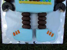 Robot Cake - Bottom