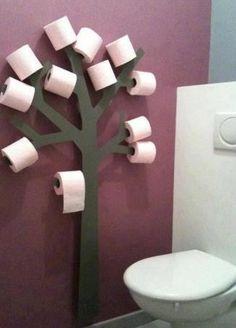 Leuke wc rollen boom :-)