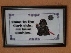 Finalmente emoldurado XD Darth Vader