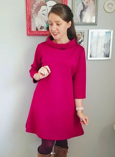 Madeline's Coco Dress - Pattern by Tilly and the Buttons Sewing Ideas, Sewing Projects, Sewing Patterns, Tilly And The Buttons, Dress Making Patterns, Diy Dress, Jeans Dress, Aprons, Dressmaking