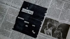Newspaper + marker = poetry: The story behind my newspaper blackout poems.