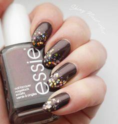Shiny Nail Art #nail #nails #nailart