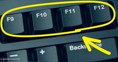 Sai a cosa servono i tasti sulla tastiera del computer? Computer Help, Best Computer, Computer Keyboard, Computer Tips, Phone Hacks, Tips & Tricks, Microsoft Excel, Microsoft Office, Things To Know