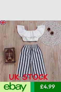 Baby Girl Frocks, Frocks For Girls, Cute Girl Outfits, Kids Outfits, Little Girl Fashion, Kids Fashion, Newborn Fashion, Trouser Outfits, Cut Clothes