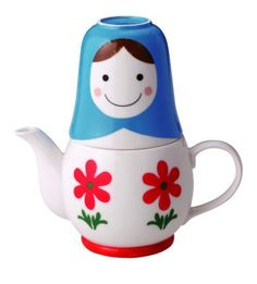 "Matryoshka ""Tea for Two"" 3pc Tea Set by Globally Cute, http://www.amazon.com/dp/B001L5YR8Y/ref=cm_sw_r_pi_dp_BXdGqb1NWAM4S"