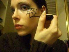 Trucco Halloween fai da te: la ragnatela [VIDEO]   PourFemme