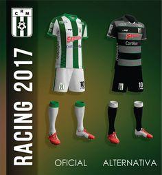 Camisas do Racing de Montevideo 2017 MGR Sports