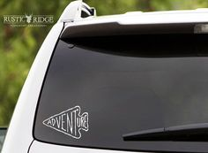 Adventure Decal Adventure Sticker Quote by RRCountryCreations