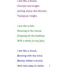 simile+poem - Google Search | Poetry | Pinterest | Simile poems ...
