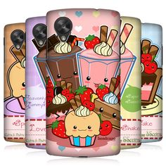 HEAD-CASE-KAWAII-CAKES-AND-SHAKES-BACK-CASE-COVER-FOR-LG-GOOGLE-NEXUS-5-D821
