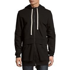 DRIFTER Walker Cotton Hoodie (1.329.965 IDR) ❤ liked on Polyvore featuring men's fashion, men's clothing, men's hoodies, mens hoodies, mens zip front hoodie, mens cotton hoodie, mens hooded sweatshirts and mens sweatshirts and hoodies