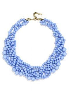 Bubblestream Collar Necklace- any color (periwinkle is my favorite but may be sold out) | BaubleBar Click to see more of Miami's first jewelry collection