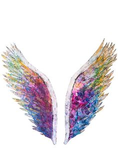 The Global Angel Wings Limited Edition White Print