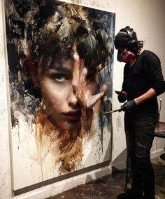 Likes, 34 Kommentare - Artwork Portrait Artists ( . Artist Life, Artist At Work, Academic Drawing, Modern Drawing, Artist Workshop, Artist Aesthetic, Creative Portraits, Portrait Illustration, Art Pages