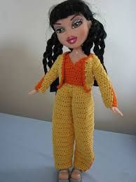 Knitting Patterns For Bratz Doll Clothes : 1000+ images about Bratz on Pinterest Free knitting ...