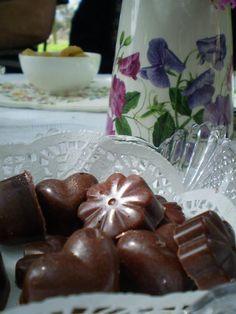 Dairy free home made chocolates