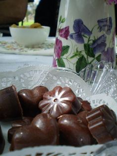 Dairy free home made chocolates