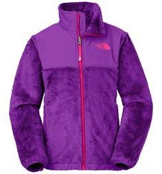 f5fec5d6fcb5 The North Face Girl s Denali Thermal Jacket Pixle Purple