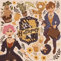 """Adora_illustration on Instagram: """"💛HUFFLEPUFF PRIDE🖤 STOP SAYING HUFFLEPUFFS ARE WEAK‼️‼️‼️ They are honest, loyal, true, fair, which means they are the best friends you can…"""" Harry Potter Illustrations, Hufflepuff Pride, Harry Potter Books, Hogwarts, Desi, Best Friends, Disney, Anime, Fictional Characters"""