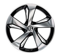 Bentley Bentayga First Edition two-tone wheel