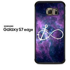 Galaxy Nebula Infinity Anchor Samsung Galaxy S7 Edge Case