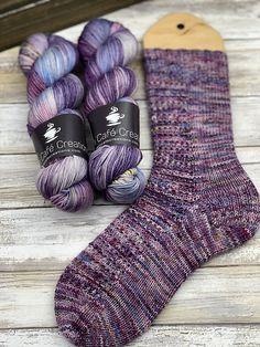 Ravelry: Vanilla Soufflé pattern by Christy Houghton free pattern Knitting Patterns Free, Free Knitting, Knitted Socks Free Pattern, Knitting Machine, Vintage Knitting, Stitch Patterns, Knitting Socks, Knit Socks, Crochet Socks