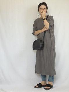 URBAN RESEARCH DOORS WOMENSのワンピース「DOORS トタンテレコワンピース」を使ったchanpekoのコーディネートです。WEARはモデル・俳優・ショップスタッフなどの着こなしをチェックできるファッションコーディネートサイトです。
