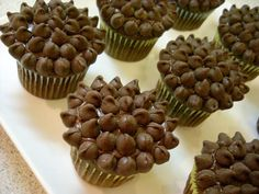 Candy Bar Cupcakes: Chocolate