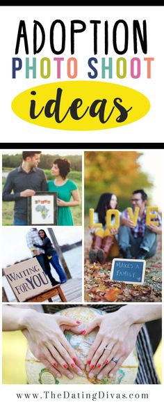 TRIGGER WARNING: This post contains Maternity photos as well as darling Adoption Photo Shoot Ideas.  I LOVE this idea in place of the usual maternity pictures! Scroll down for 15 gorgeous ideas. www.TheDatingDivas.com