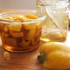 Gruß aus der Küche: Quitten-Tee – Mogwa Cha - Ausprobiert!! Suuuper lecker!!