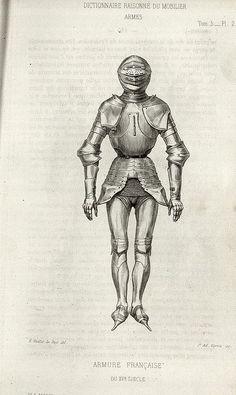 15th century armour by peacay, via Flickr