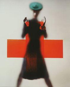 Erwin Blumenfeld's 1945 Vogue cover: 'Red Cross'.