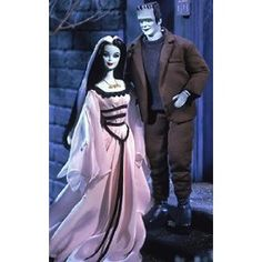 Barbie Collectables - Mattel The Munsters - Barbie & Ken Giftset - Barbie Doll