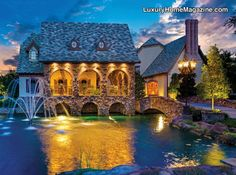 Modern Day Castle Featured On The Front Cover Of LHM Dallas   Fort Worth!  U0026gt