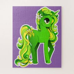 My Little Pony Puzzle - kids kid child gift idea diy personalize design