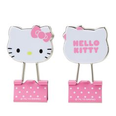 HK |❣| HELLO KITTY Binder Clips