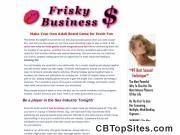 Frisky Business: An Erotic Adult Board Game | Stripping Game | Sex Game