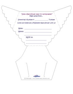 1000 ideas about diaper invitation template on pinterest for Diaper cut out template