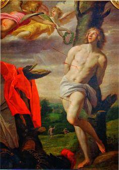 Horace Le Blanc (1580 - 1637. France). Martyre de St Sébastien, 1624. Musée de…