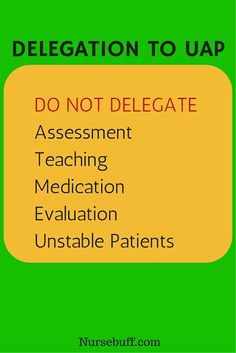 Know what you can EAT in a delegation. --- @Emfeland   Nursing ...