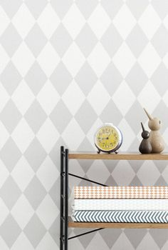 Grey wallpaper? Ferm Living Shop — Harlequin (Gray) Wallpaper